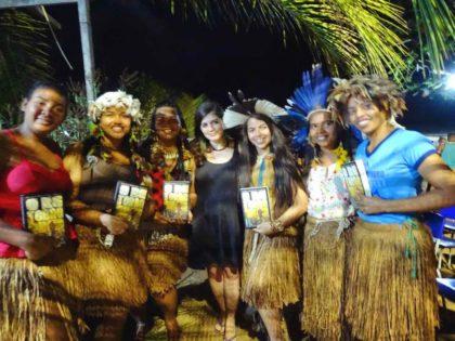 """Daniela Alarcon launched the book """"O retorno da terra"""" in Tupinamba territory"""