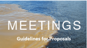 Meeting Proposals